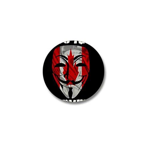 CafePress We Are Anonymous Canada Mini Button 1