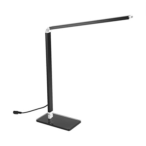 Energy Saving Folding Rechargeable 48 LED Table Desk Lamps Office Table Lamp,Black,EU - Table Collection Lamp Metro
