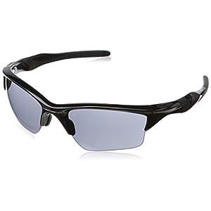 Oakley Men's Half Jacket 2.0 Square XL Eyeglasses,Polished Black,62 mm