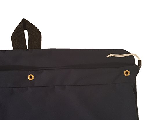 Heavy Duty 30x40 Canvas Laundry Bag with 6 Brass Grommets and Handle by Laundry Bags (Image #2)