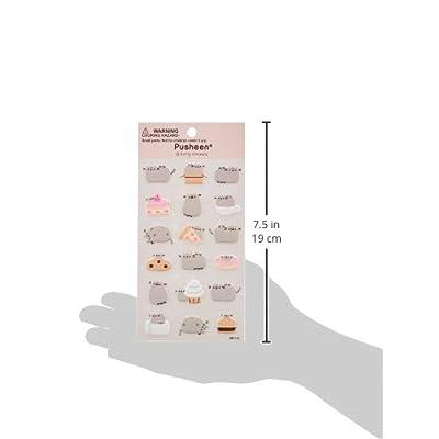 GUND Pusheen 18 Sticker Sheet: Gund: Toys & Games