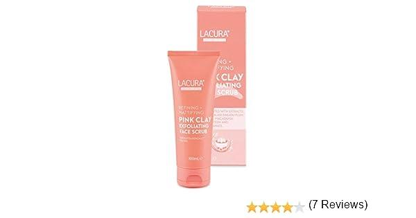 Lacura - Exfoliante facial de arcilla rosa | refinado + ...