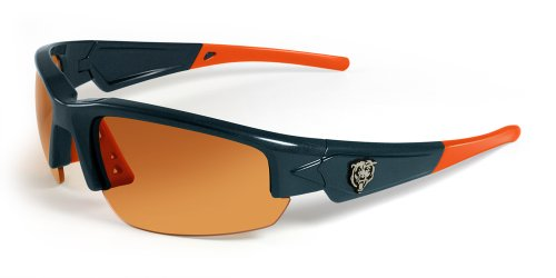 - NFL Chicago Bears Dynasty Sunglasses, Navy/Orange