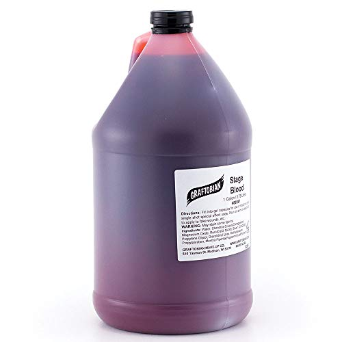 Graftobian Special FX Stage Blood - 1 Gallon Jug