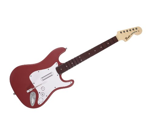 Rock Band 3 - Wireless Fender Stratocaster Guitar Controller for Wii - ()