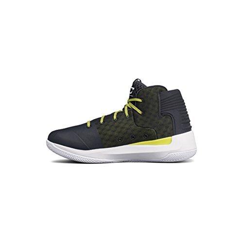 Under Armour Men's UA SC 3Zero Basketball Shoes (7.5 M US, Stealth Gray/White/Stealth Gray)