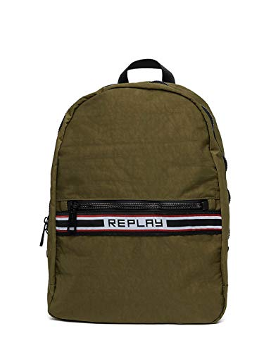 Crinkle Green REPLAY Men's Nylon Backpack U7q0nq