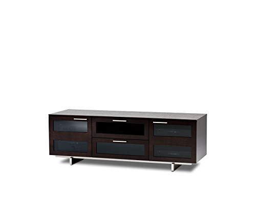 (BDI Avion 8927 Triple Wide Entertainment Cabinet, Espresso Stained Oak)