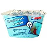 Adams Hook Clear Plastic, Metal Hook 3 Lb. Max.