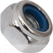 Pack of 3 M14 x 1.50p Metric Fine Pitch Nylon Insert Nut