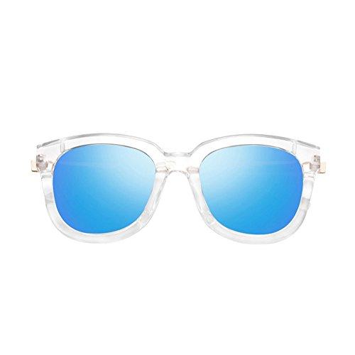 de DT Redonda Cara Señoras Sol de Color de Gafas 4 de Sol Gafas Gafas Las la polarizadas 7tCrqtWw