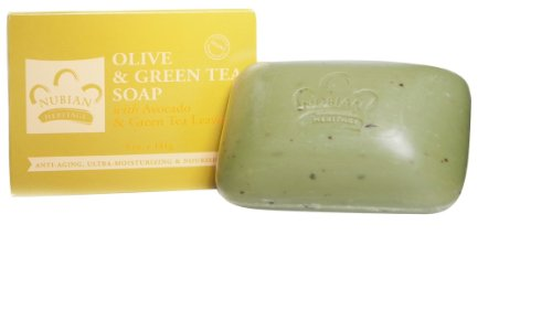 - Bar Soap (Olive & Green Tea) 3pk by Nubian Heritage