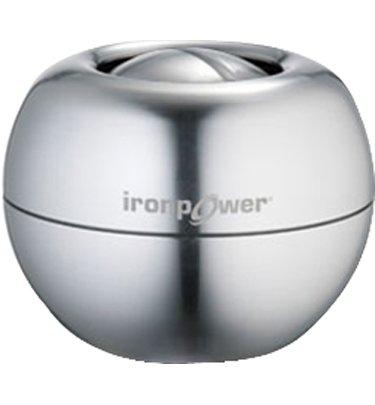 Dynaflex IronPower Steel Gyro Metal Powerball (Silver)