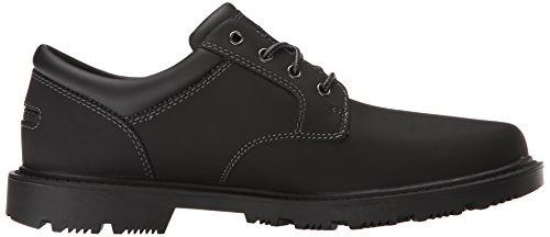 Rockport Mens Redemption Road Impermeabile Toe Toe - Nero Impermeabile