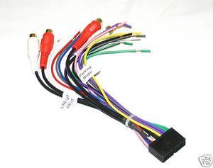 31CAynWHrmL amazon com jensen wire harness for xdvd8180 vm9510 automotive jensen wiring harness at crackthecode.co