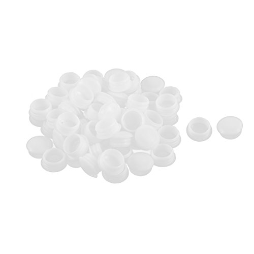 UXcell Plastic Household Flush Type Locking Hole Caps Cov...