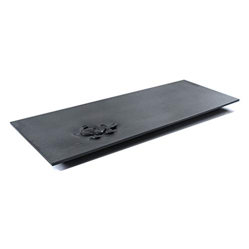 Tea-For-One Sets Tea Tray Black Stone Simple Tray Living Room Natural Stone Tea Set Large Chinese Kung Fu Tea Table Pure Hand-carved Basalt Tea Tray Tea-For-One Sets