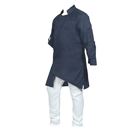 31CB0Q 6lsL. SS500  - Ahhaaaa Kids Ethnic Wear Indo Western Kurta and Pyjama Set for Boys