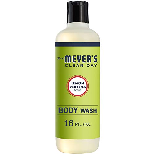Mrs. Meyer's Clean Day Body Wash, Lemon Verbena, 16 fl oz (Jr Watkins Aloe And Green Tea Shampoo)