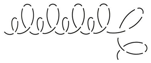Corner Border Quilt Stencil (Quilting Creations Loop Border and Corner Quilt Stencil)