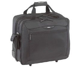Targus CityGear Rolling Travel Case for 17-Inch Notebooks, Black/Yellow (Targus Rolling Travel Notebook Case)