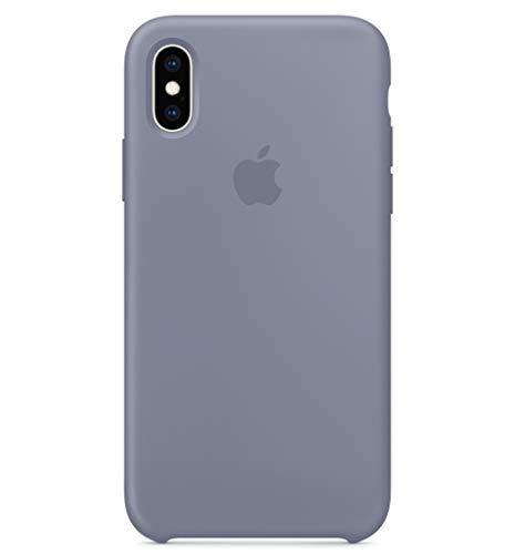 Lavender Apple - BigMike Compatible for iPhone Xs Case, Liquid Silicone Gel Rubber Shockproof Case Soft Microfiber Cloth Lining Cushion Compatible with iPhone Xs (5.8