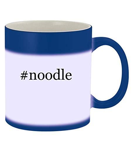 #noodle - 11oz Hashtag Magic Color Changing Mug, Blue