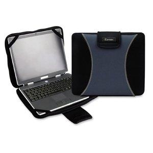 Kantek Laptop Bag - KANTEK LGCC415G (Shp) Laptop Bag Neoprene Gray/Bla