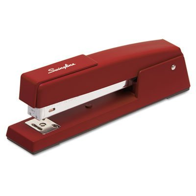 Swingline® Classic 747 Full Strip Stapler, 20 Sheet Capacity, Burgundy