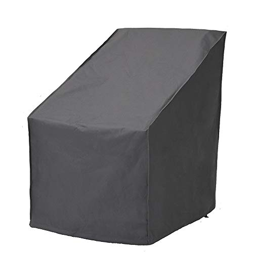 UPHA Patio Chair Cover Waterproof Patio Furniture Chair Cover High Back Outdoor Chair Cover,Grey by UPHA