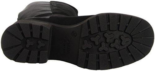 Pollini SA26057G12TL, Sneakers a Collo Alto Donna Nero