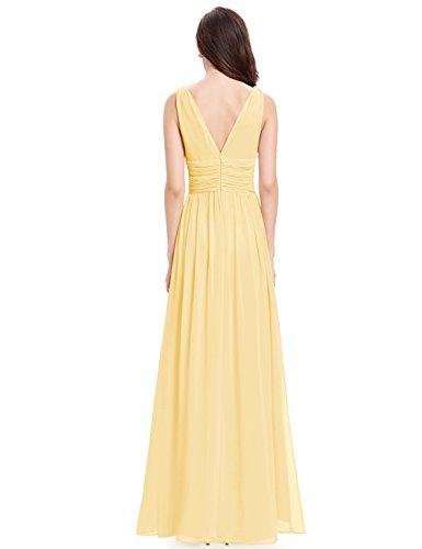Ever-Pretty HE09016 - Vestido para mujer Yellow2
