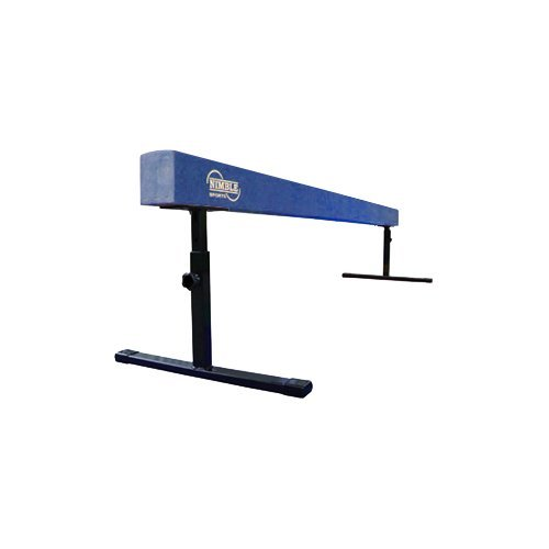 Blue 8ft Adjustable Balance Beam (12in 18in)