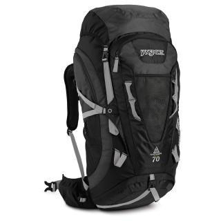 JanSport Trail Series Katahdin External Frame Backpack, Greytar/Forge Grey, 70-Liter, Outdoor Stuffs