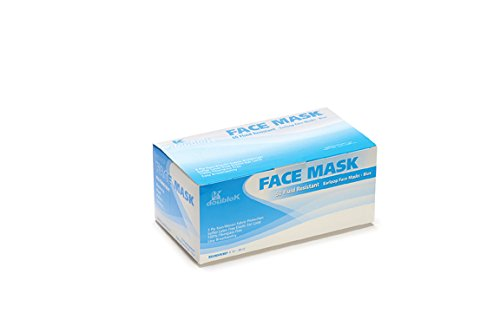 1000 PCS DISPOSABLE - 3 PLY EARLOOP FACE MASK - DENTAL MEDICAL BEAUTY SUPPLIES by Elisanliving
