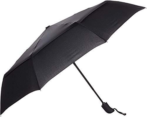AmazonBasics Automatic Small Compact Travel Umbrella - Black