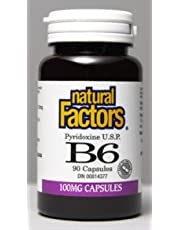 B-6 Pyridoxine Hcl 100mg (90Capsules) Brand: Natural Factors