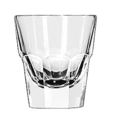 Libbey Glass Inc Lib 15248 C-4.5 Oz Rocks - Duratuff (36) LIB 15248