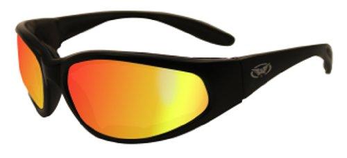 Global Vision Eyewear Hercules Plus Safety Glasses  Gt Red Lens