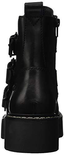 Donna 001 black Smith Nero Windsor Kaylee Stivali Combattimento Da wXvFZ1Aq