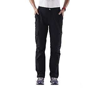 Nonwe Women's Water-resistant Lightweight Cargo Pants-front