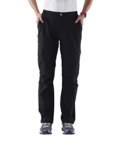 Nonwe Women's Outdoor Water-Resistant Quick Drying Lightweight Cargo Pants