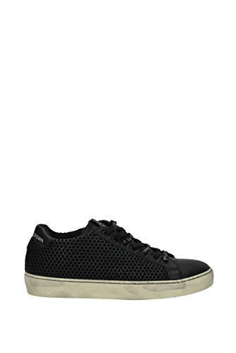 Cuir EU MICONIC1 Sneakers Homme Crown Leather Noir qwtnXxgyW