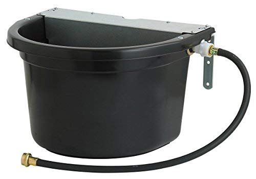 LITTLE GIANT Duramate Automatic Waterer with Metal Cover, Black by LITTLE GIANT