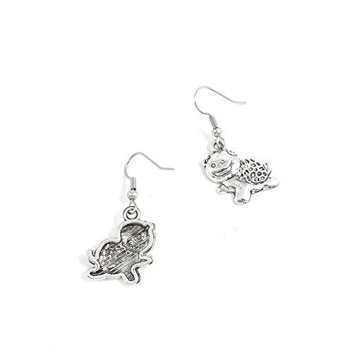 50 Pairs Cute Tortoise Turtle Ear Hooks Earring Supply Jewelry Making Charms ()