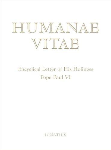humanae vitae encyclical letter of his holiness paul vi pope paul vi giovanni battista montini 9780898707281 amazoncom books