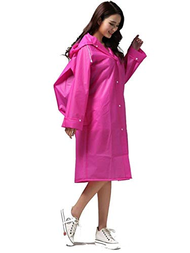 Jacket Rain Rose Women Giovane Raincoat Rainwear Eva Chic Impermeabile Yasminey Bicycle gwEdpqPWv