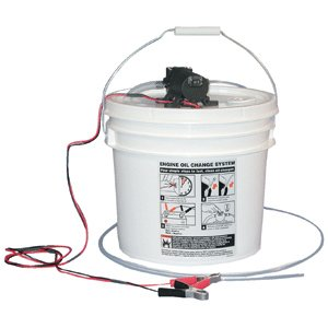 Jabsco DIY Oil Change System w/Pump & 3.5 Gallon Bucket (Jabsco Oil Change System)