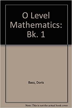 Descargar Libro Origen O Level Mathematics: Bk. 1 De Epub A Mobi