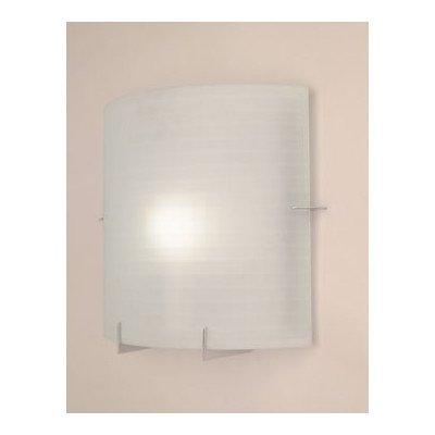 Contempo 1 Light Wall Sconce - Frost Light Bathroom Halogen Acid